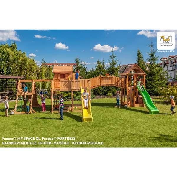 Детска площадка MAXI Spider land